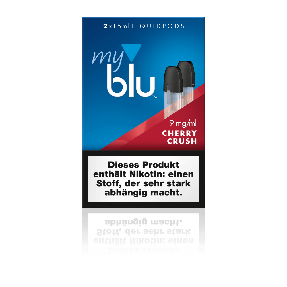 MyBlu (Von.ERL.) Liquidpod Cherry Crush (2er-Pack)