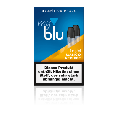 MyBlu (Von.ERL.) Liquidpod Mango Apricot (2er-Pack)
