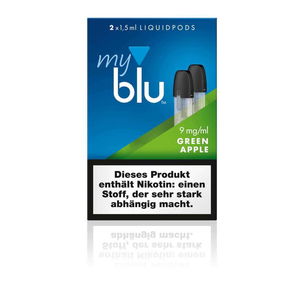 MyBlu (Von.ERL.) Liquidpod Green Apple (2er-Pack)