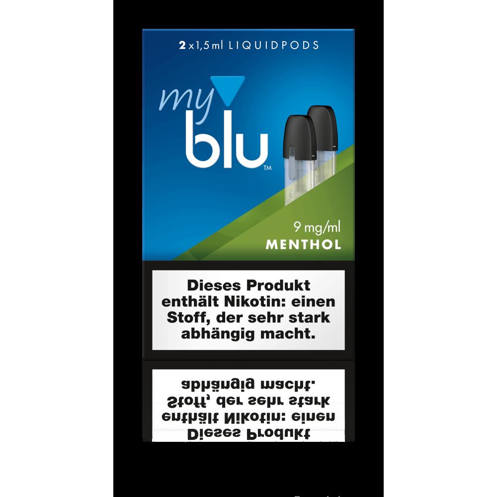 MyBlu (Von.ERL.) Liquidpod Menthol (2er-Pack)