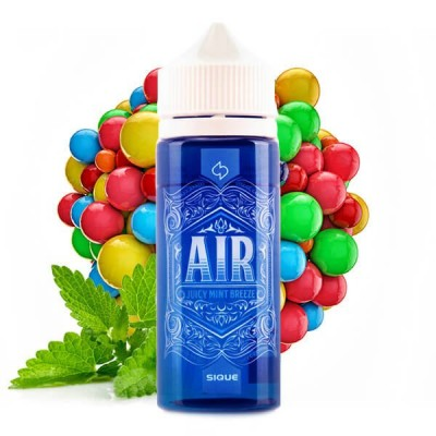 SIQUE Berlin - Air 100 ml Shortfill (Saftiges Minzkaugummi)