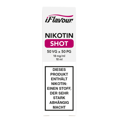 iFlavour Nikotin Shot 50/50 - 18 mg/ml (10 ml)