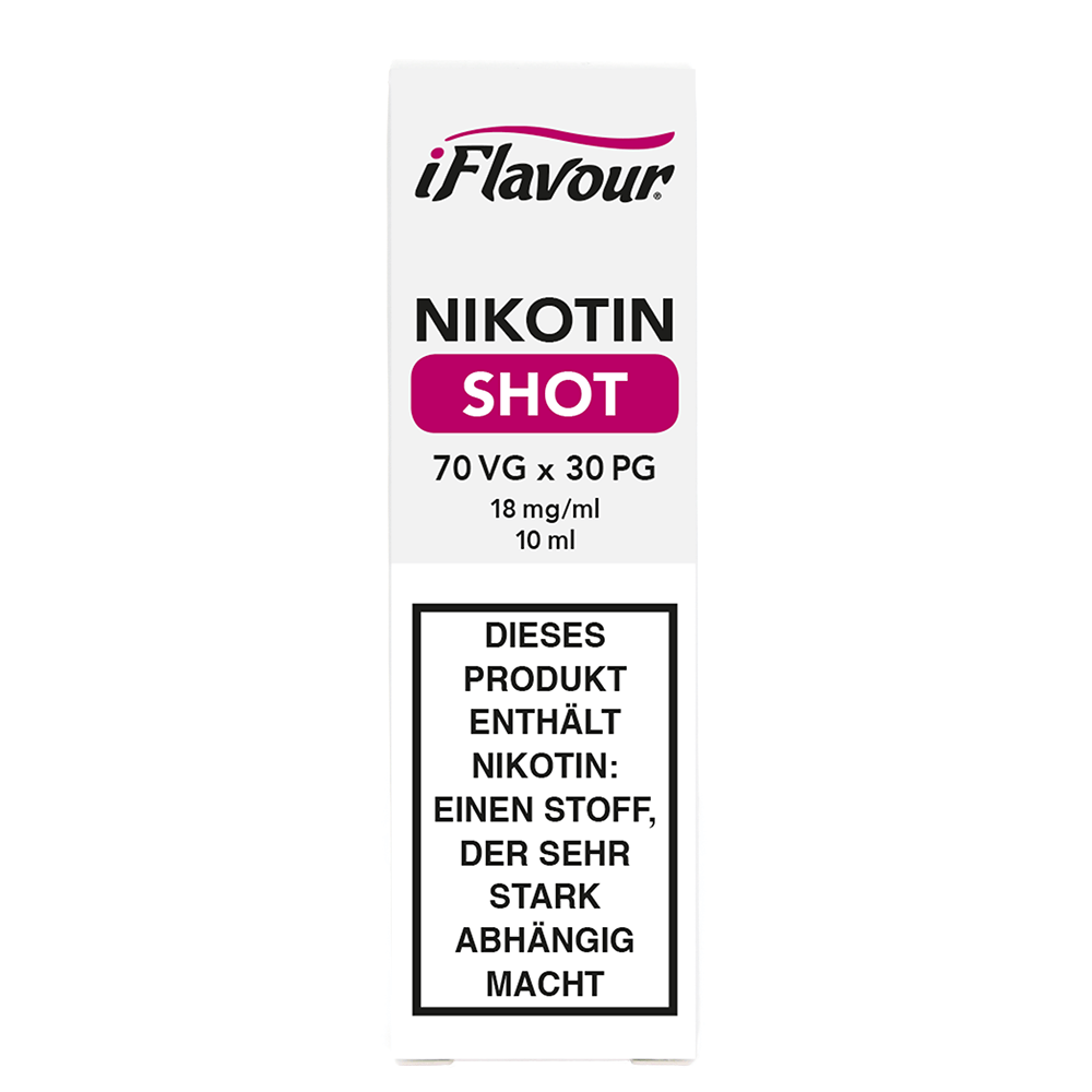 iFlavour Nikotin Shot 70/30 - 18 mg/ml (10 ml)
