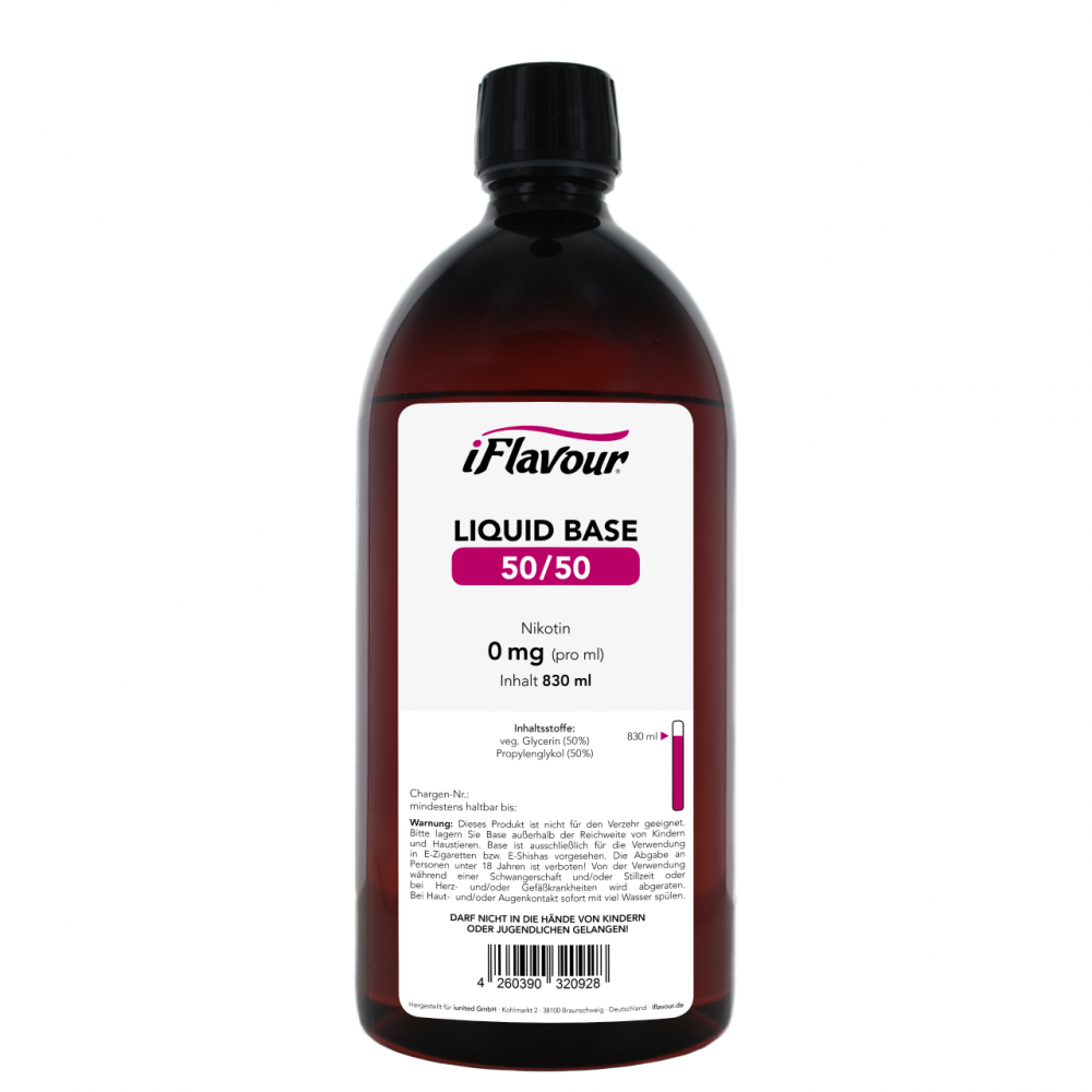 iFlavour Liquid Base 830 ml (50/50)