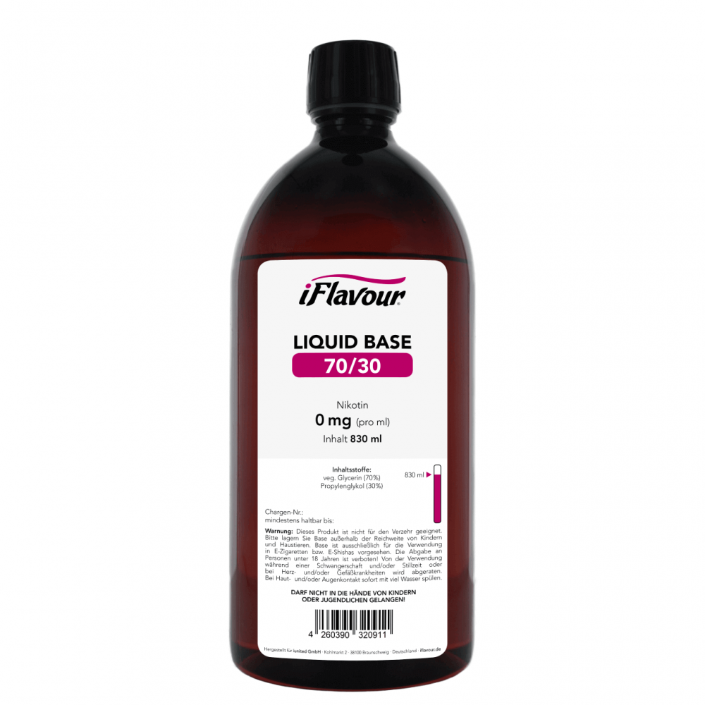 iFlavour Liquid Base 830 ml (70/30)