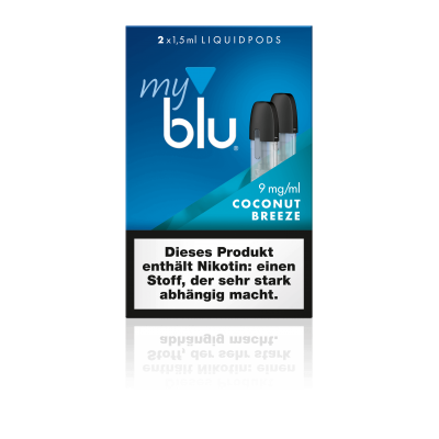 MyBlu Liquidpod Coconut Breeze (2er-Pack)