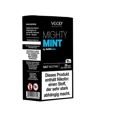 SaltNicLabs - Mighty Mint (Nikotinsalz E-Liquid)