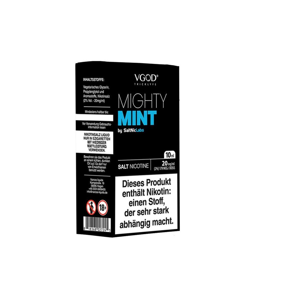 SaltNicLabs - Mighty Mint (Nikotinsalz E-Liquid)