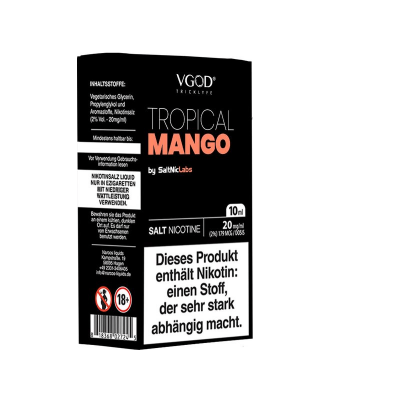 SaltNicLabs - Tropical Mango (Nikotinsalz E-Liquid)