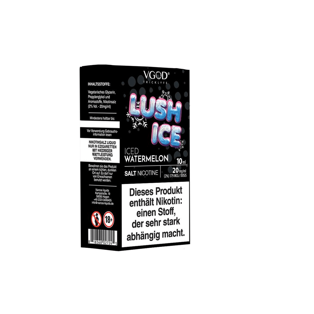 SaltNicLabs - Lush Ice (Nikotinsalz E-Liquid)