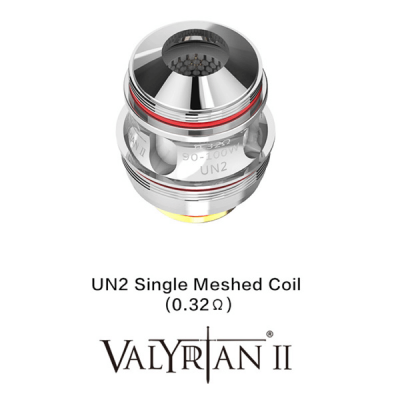 Uwell Valyrian II UN2 Single-Mesh Heads (2er-Pack)