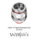 Uwell Valyrian II UN2-3 Triple-Mesh Heads (2er-Pack)