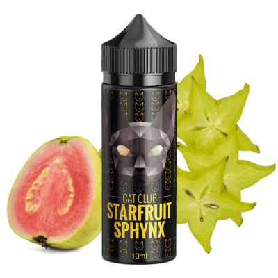 Cat Club - Starfruit Sphynx 10 ml (inkl. 120 ml Leerflasche)
