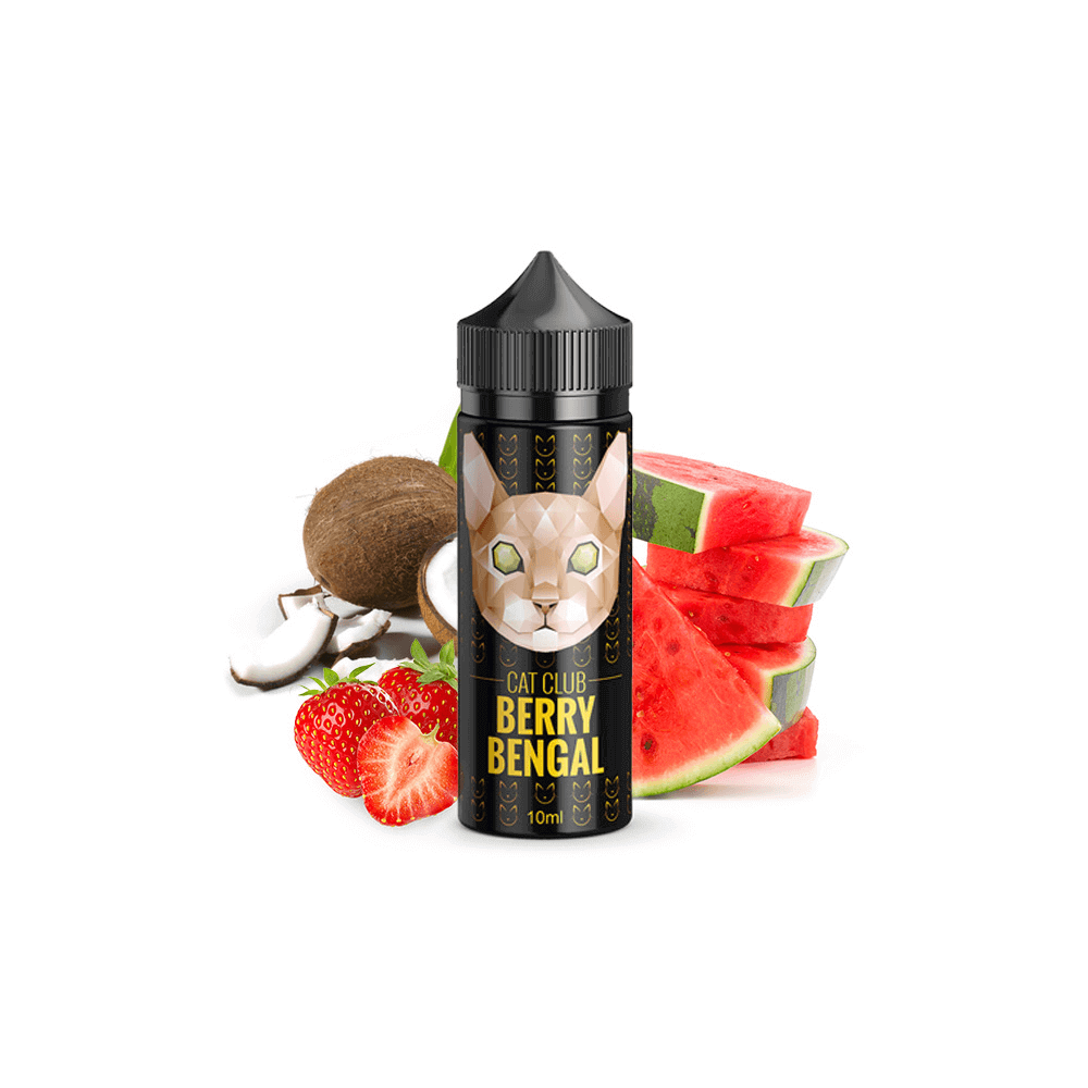 Cat Club - Berry Bengal 10 ml (inkl. 120 ml Leerflasche)