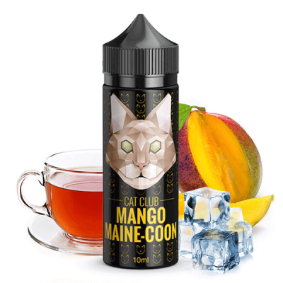 Cat Club - Mango Maine-Coon 10 ml (inkl. 120 ml Leerflasche)