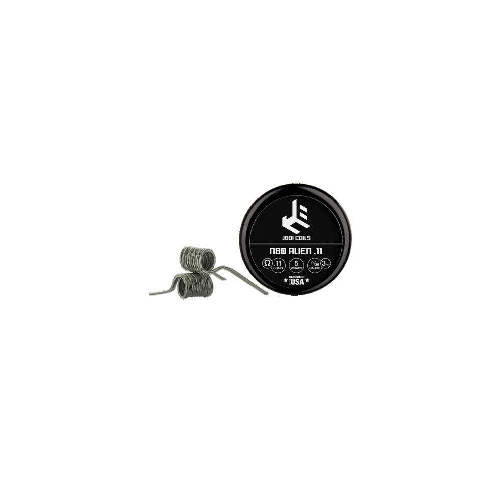 JBOI Coils - Ni80 Alien .11 Coil (2er-Pack)