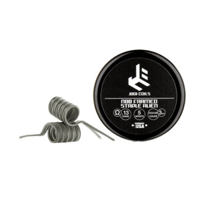 JBOI Coils - Ni80 Framed Staple Alien Coil (2er-Pack)