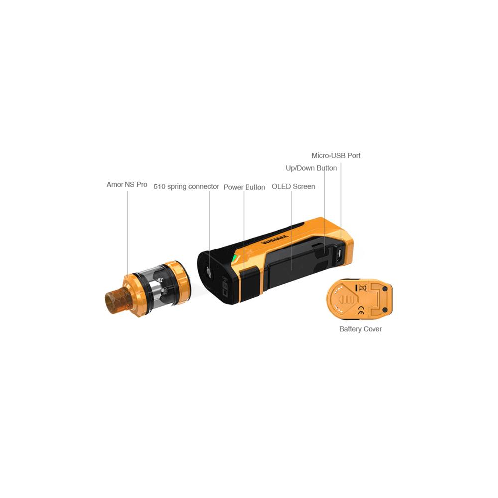 Wismec CB-80 / Armor NS Pro Kit
