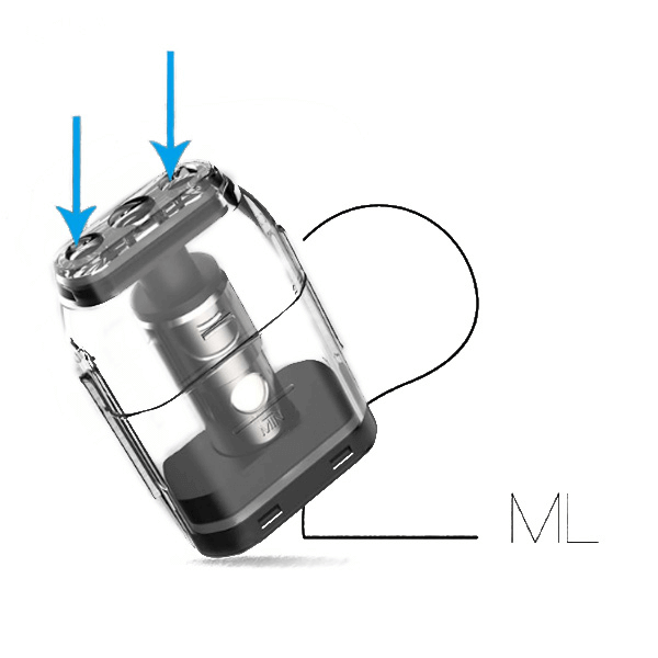Uwell Caliburn E-Zigaretten Kit