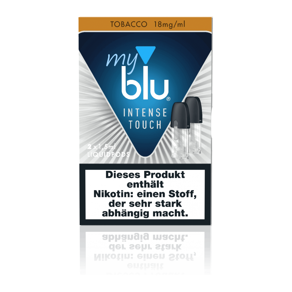 MyBlu Liquidpod Intense Touch Tobacco (2er-Pack)
