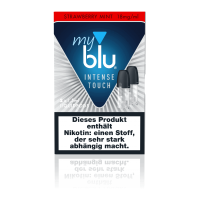 MyBlu Liquidpod Intense Touch Strawberry Mint (2er-Pack)