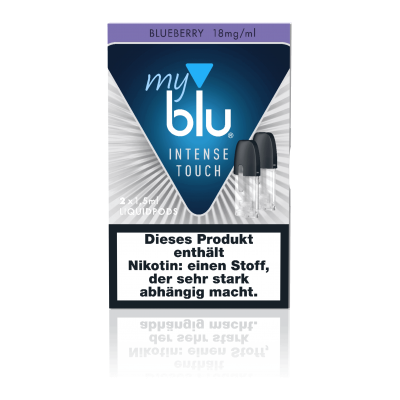 MyBlu Liquidpod Intense Touch Blueberry (2er-Pack)