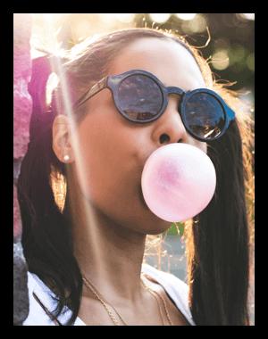 Bubblegum-Liquid für die E-Zigarette