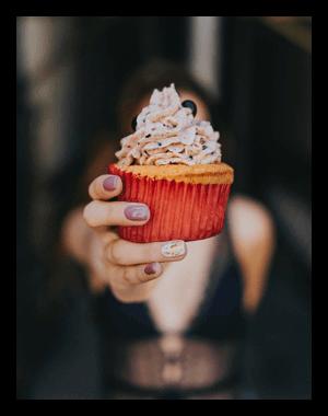 Cupcake-Liquid für die E-Zigarette